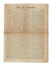 (VERMONT.) Large group of Vermont newspapers and periodicals.
