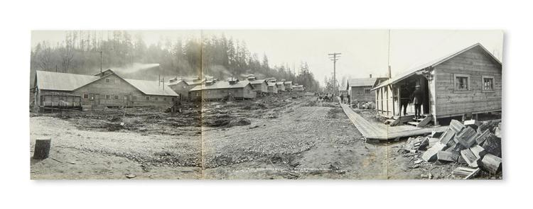 Washington State Panoramic Photograph Of The Worker S Cam
