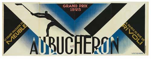 ADOLPHE MOURON CASSANDRE (1901-1968) AU BUCHERON. 1926.