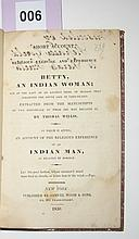 (AMERICAN INDIANS.) Willis, Thomas. A Short Account of the Religious Exercise and Experience of Betty, an Indian Woman;