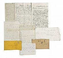 (AFRICAN-AMERICANS.) Family papers of Richard Henry Green--perhaps the first African-American graduate of Yale.