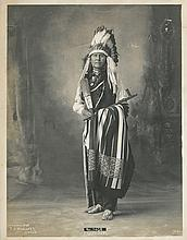 (AMERICAN INDIANS--PHOTOGRAPHS.) Rinehart, Frank A. Cutnose, Arapahoes.