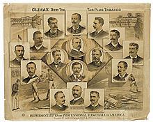 (BASEBALL.) Representatives of Professional Base Ball in America.