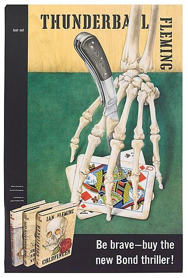 RICHARD CHOPPING (1917-2008). THUNDERBALL. 1961. 29x19 inches,76x50 cm