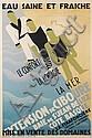 FRANCIS BERNARD (1900-1979). EXTENSION DE CIBOURE. 1928. 47x31 inches, 119x79 cm. Paul Martial., Francis Bernard, Click for value