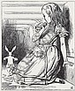 CARROLL, LEWIS; and TENNIEL, SIR JOHN. Sir John Tenniel's Illustrations to Lewis Carroll's Alice's Adventures in Wonderland & Throug