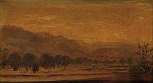 JOHN WILLIAM CASILEAR Landscape at Dusk.
