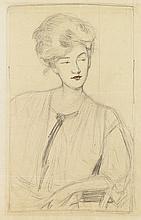 GERTRUDE ALBRIGHT Portrait of a Woman.