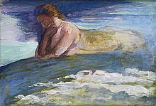JOHN LA FARGE The Sphinx.