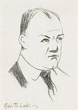 GEORGE LUKS Self Portrait.