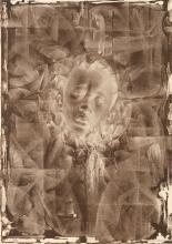 CHARLES WHITE (1918 - 1979) Wanted Poster Series #11 (positive and negative images).