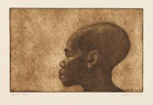 CHARLES WHITE (1918 - 1979) Profile.