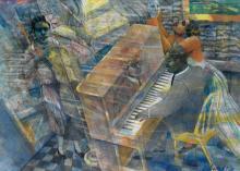 LOUIS DELSARTE (1944 - ) Piano and Singers.