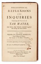 BERKELEY, GEORGE. A Chain of Philosophical Reflexions and Inquiries concerning the Virtues of Tar-Water.  1744