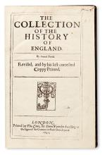 DANIEL, SAMUEL.  The Collection of the History of England.  1634 + TRUSSELL, JOHN.  A Continuation of the Collection.  1641