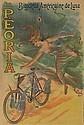 PAL (JEAN DE PALEOLOGUE) (1860-1942) LA PEORIA. Circa 1898. 62x41 inches. P. Lemenil, Asnieres., Jean Paleologue, Click for value