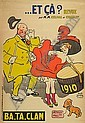 GUS BOFA (GUSTAVE BLANCHOT) (1885-1968)... ET CA? 1910. 55x38 inches. Ch. Verneau, Paris., Gus Bofa, Click for value