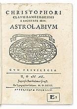CLAVIUS, CHRISTOPH, S.J.  Astrolabium.  1593