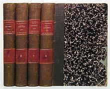 DARBOUX, JEAN-GASTON. Leçons sur la Théorie Génerale des Surfaces.  4 vols.  1887-96