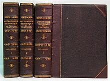 DELAMBRE, JEAN-BAPTISTE-JOSEPH. Astronomie Théorique et Pratique.  3 vols.  1814
