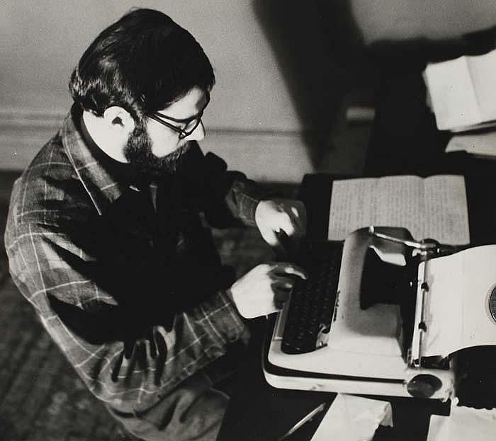 MCDARRAH, FRED (1926- ) Allen Ginsberg.