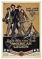 ERNEST HAMLIN BAKER (1889-1975). LET'S STICK TOGETHER / THE AMERICAN LEGION. 40x28 inches, 102x72 cm. Carey Print, New York., Ernest Hamlin Baker, Click for value