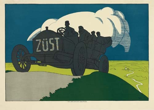 OLAF GULBRANSSON (1873-1958) ZUST. 1907.