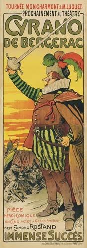 LUCIEN METIVET (1863-1932) CYRANO DE BERGERAC. 1898.