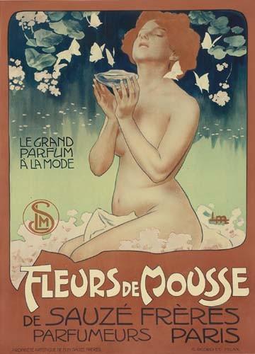 LEOPOLDO METLICOVITZ (1868-1944) FLEURES DE MOUSSE. 1898