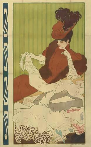 MISTI (FERDINAND MIFLIEZ 1865-1923) AFFICHE AVANT LA LETTRE. Circa 1898.