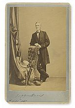 DAVIS, JEFFERSON. Photograph dated and Signed,