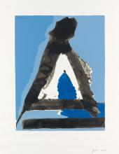 ROBERT MOTHERWELL The Basque Suite #7.
