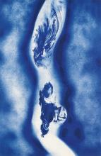 YVES KLEIN (after) Three color lithographs