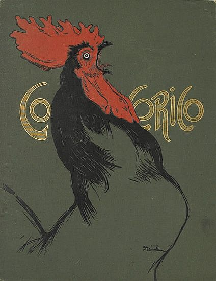 VARIOUS ARTISTS. COCORICO. Group of 6 magazines and four covers. 1899-1900. Each approximately 12x9 inches, 30x23 cm.