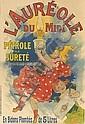 JULES CHÉRET (1836-1932). L'AURÉOLE DU MIDI. 1893. 47x32 inches, 119x81 cm. Chaix, Paris.