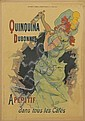 JULES CHÉRET (1836-1932). QUINQUINA DUBONNET. Courrier Français supplement, February 2, 1896. 22x15 inches, 58x40 cm. Chaix, Pairs.