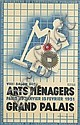 FRANCIS BERNARD (1900-1979). VIII SALON DES ARTS MÉNAGERS. 1931. 38x24inches, 97x61cm. Editions Paul-Martial, [Paris.], Francis Bernard, Click for value