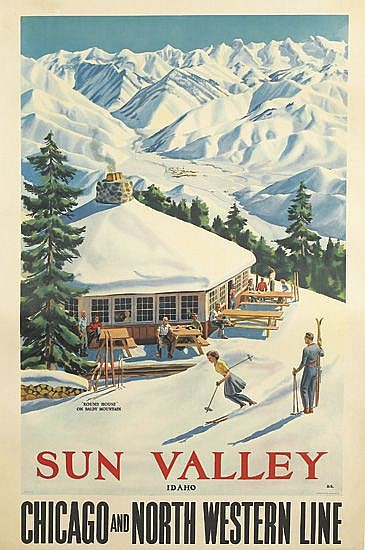 DWIGHT CLARK SHEPLER (1905-1974). SUN VALLEY /