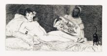 ÉDOUARD MANET Histoire d'Édouard Manet et de son oeuvre by Théodore Duret.