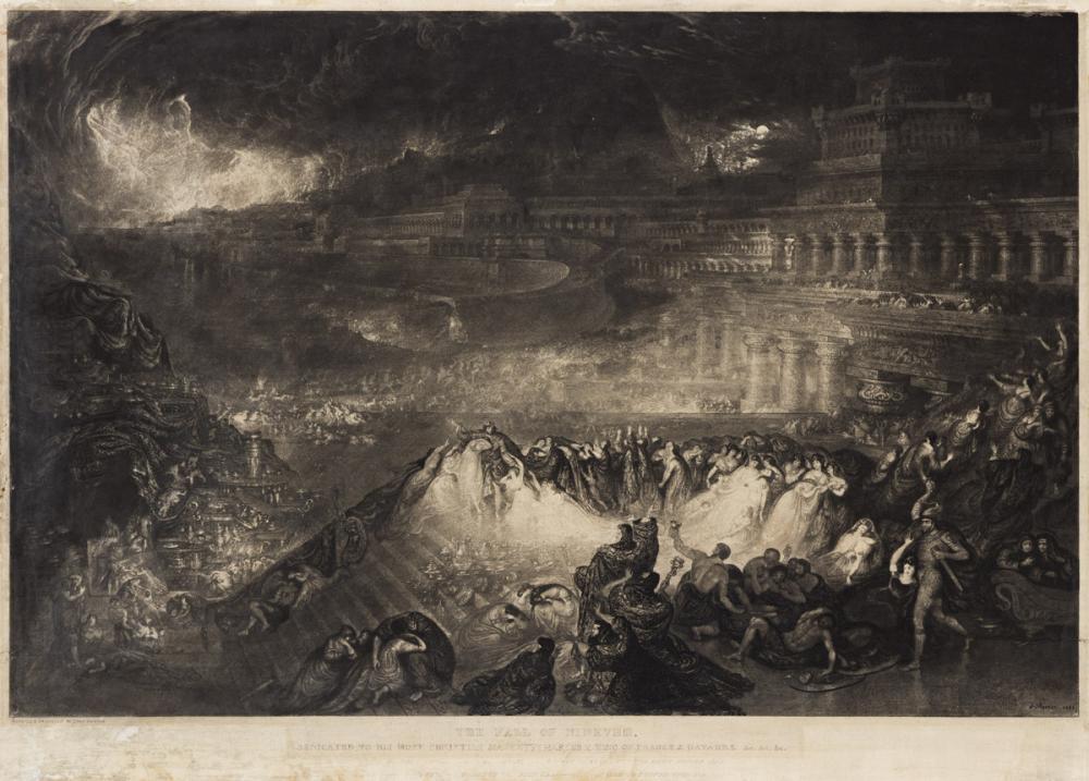 JOHN MARTIN The Fall of Nineveh.
