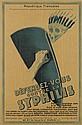 DESIGNER UNKNOWN. DÉFENDEZ - VOUS CONTRE LA SYPHILIS. Circa 1930. 46x31 inches, 118x78 cm. PAG, Paris.