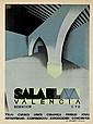 JOSEP RENAU-MONTORO (1907-1982). SALA BLAVA / VALENCIA. 1929. 29x21 inches, 75x55 cm. Mirabet, Valencia.