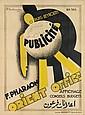 P. SOULOUMIAC (DATES UNKNOWN). PUBLICITÉ / ORIENT OFFICE. 1930. 49x36 inches, 124x92 cm. Richat Fres, Beirut.