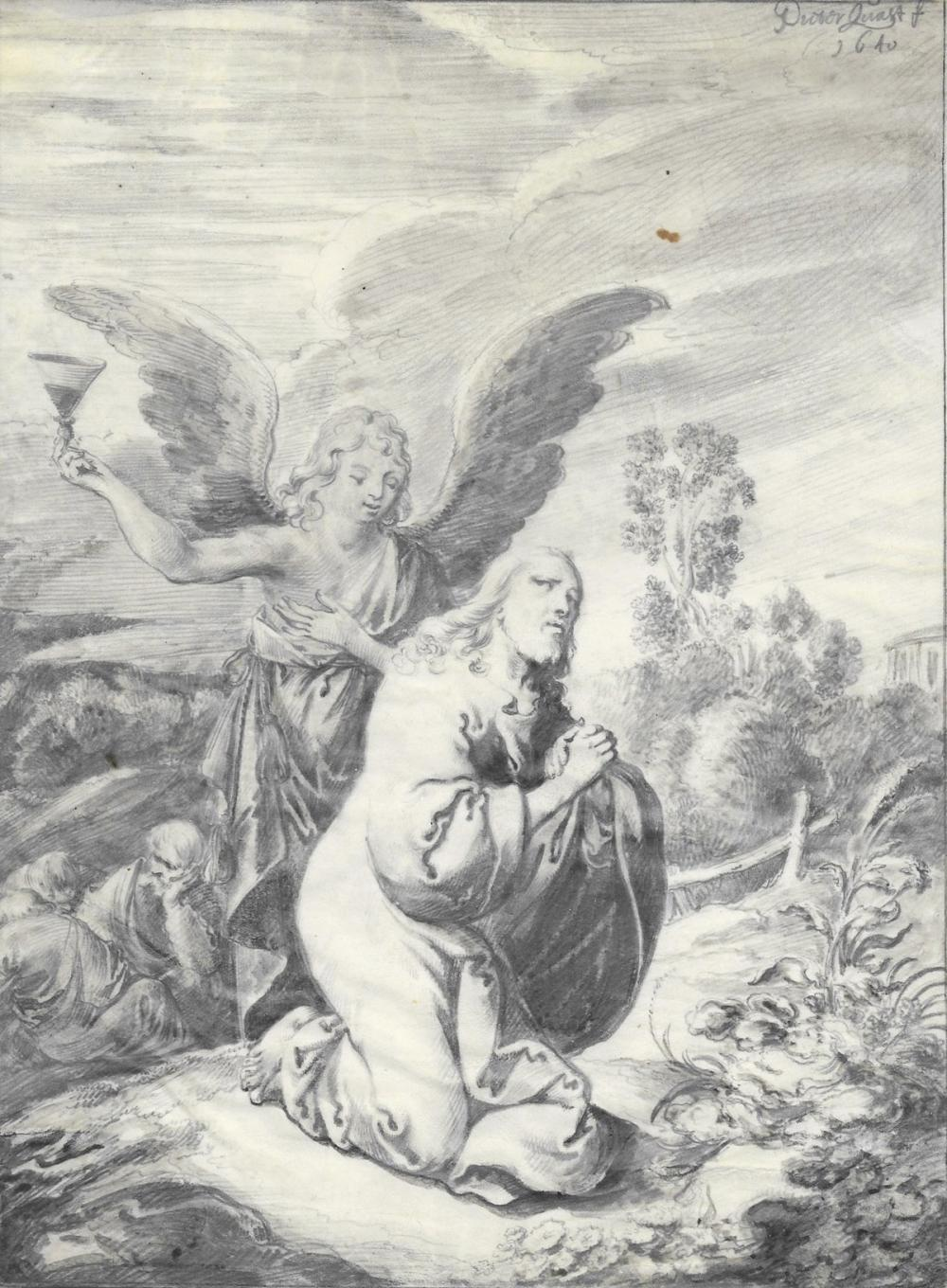 PIETER JANSZ QUAST (Amsterdam 1606-1647 Amsterdam) Group of 4 drawings from the Passion of Christ.