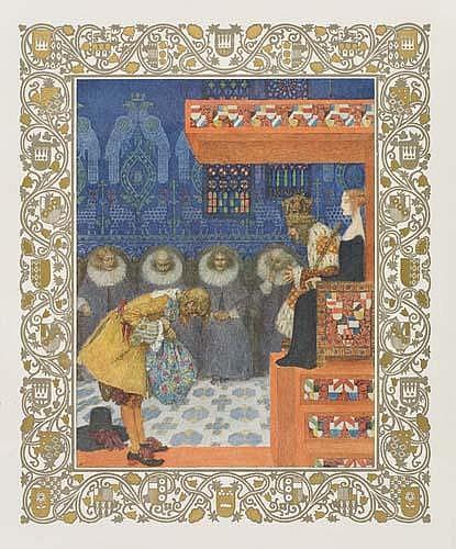 LEFLER, HEINRICH; and URBAN, JOSEF.  Andersen, Hans Christian. Andersen Kalender 1911.