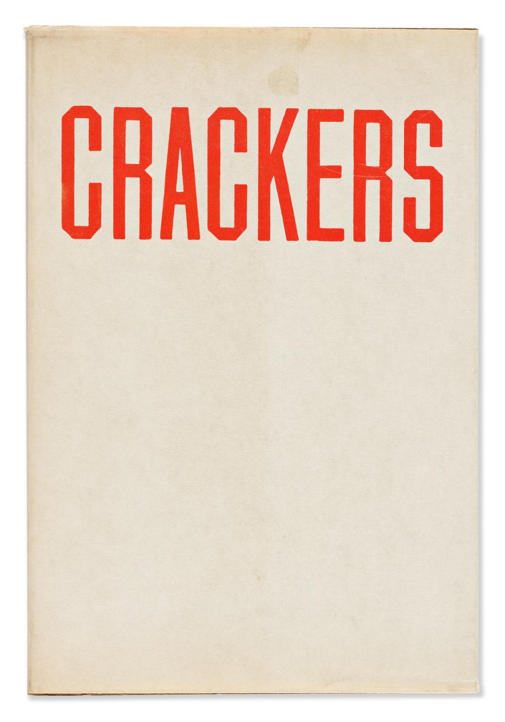 RUSCHA, EDWARD. Crackers.