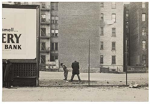 DE CARAVA, ROY (1919- ) Untitled (New York City).