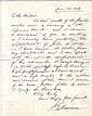 BLAINE, JAMES G. Autograph Letter Signed,