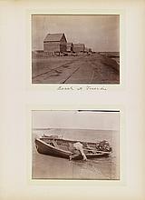 (CANADA) Album with 92 delightful amateur photographs of a trip to Nova Scotia