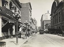 (SAN FRANCISCO) Dedication album belonging to Hon. Henry C. Loudenslager depicting San Francisco's proposed site for the Panama-Pacifi